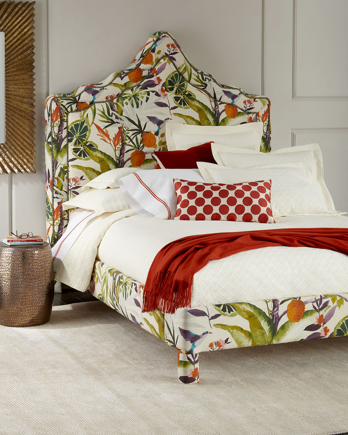 Bryony Floral King Bed
