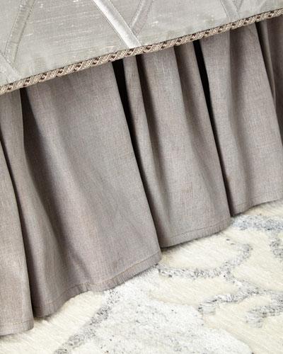 Queen/King Hydrangea Dust Skirt