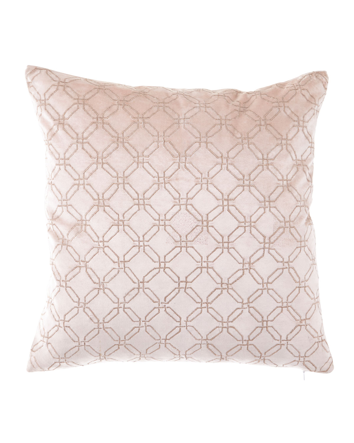 Rose Gold Square Decorative Pillow