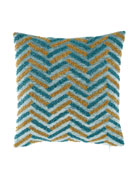 Spa Square Decorative Pillow