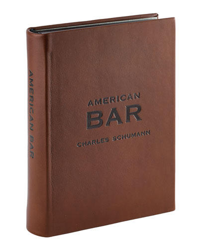 American Bar Leather-Covered Book