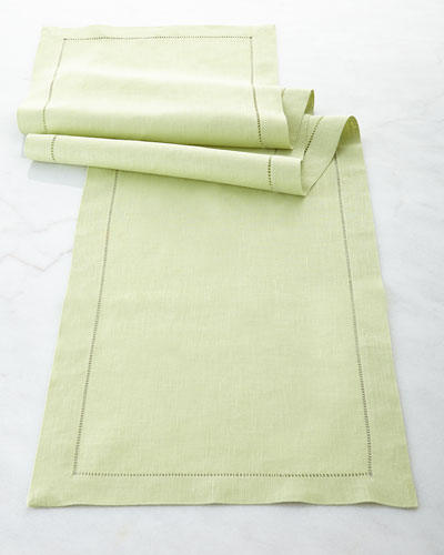 Hemstitch Table Runner, 15