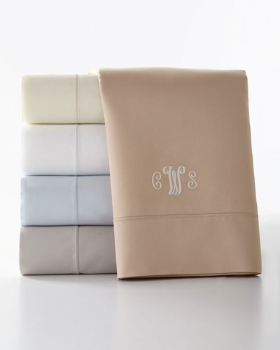 King Marcus Collection 400 Thread-Count Solid Sheet Set