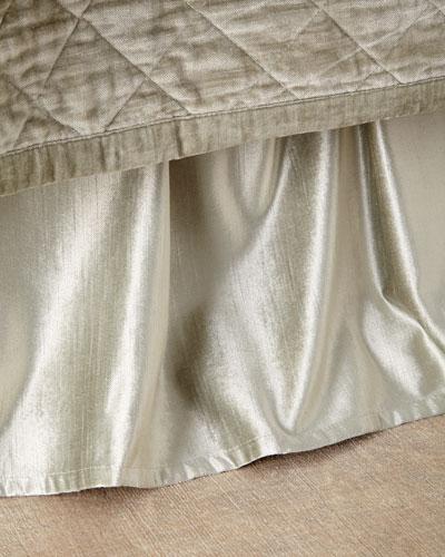 Queen Simona Velvet Dust Skirt