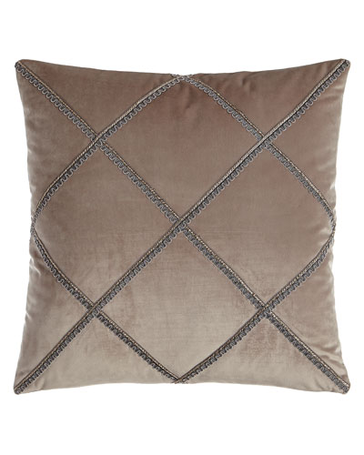 Tranquility Velvet Pillow, 18