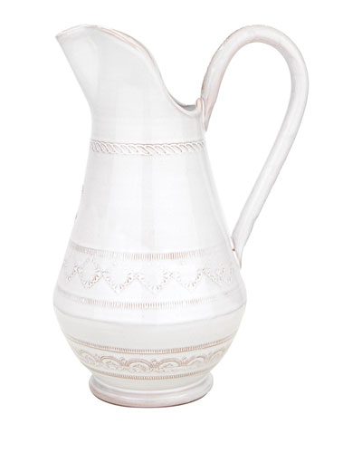 Bellezza White Medium Pitcher
