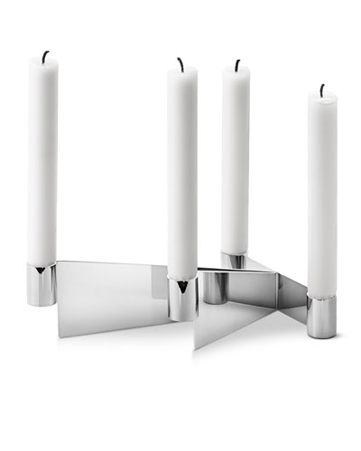 Urkiola Stainless Steel Candleholder