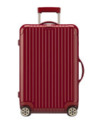 "Salsa Deluxe Electronic Tag Red 26"" Multiwheel Luggage"