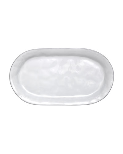 Quotidien White Hostess Tray
