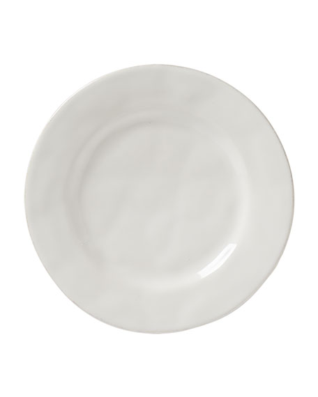 Juliska Puro Whitewash Side/Cocktail Plate