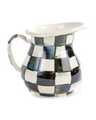MacKenzie-Childs Courtly Check Creamer/Small Pitcher
