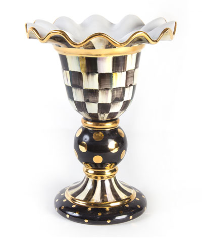 Courtly Check Stately Vase