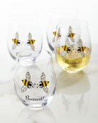Buzzed! Wine Glasses, Set of 4