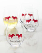 Seeing Double Wine Glasses, Set of 4