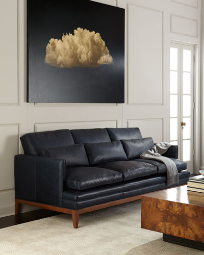 Carlyn Leather Sofa