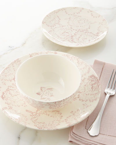 12-Piece Chrysanthemum Dinnerware Service & Oven Safe Dinnerware | Neiman Marcus
