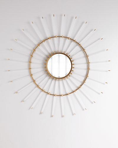 Circular Acrylic Mirror