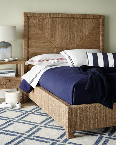Decklin Rope-Wrapped Queen Bed