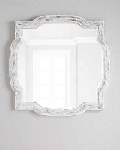 Garrison Mother-of-Pearl Mirror