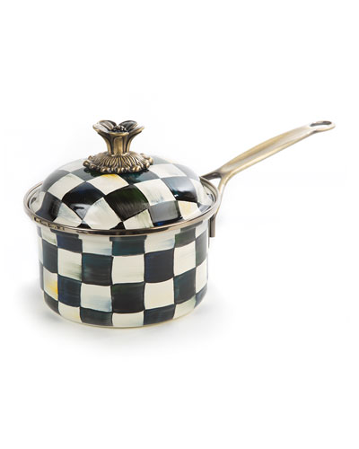 Courtly Check 1-Quart Saucepan