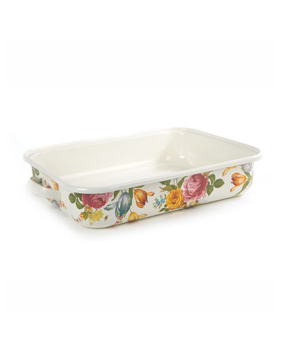 Flower Market Roasting Pan, Rectangular