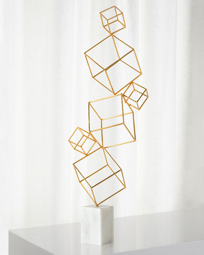 Stacking Cubes Sculpture
