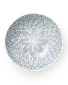 Lace Gray Medium Serving Bowl