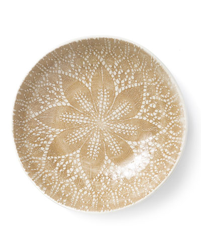 Lace Natural Pasta Bowl