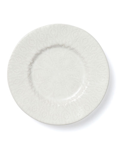 Lace White Salad Plate