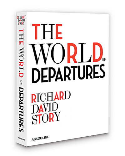 The World of Departures Hardcover Book