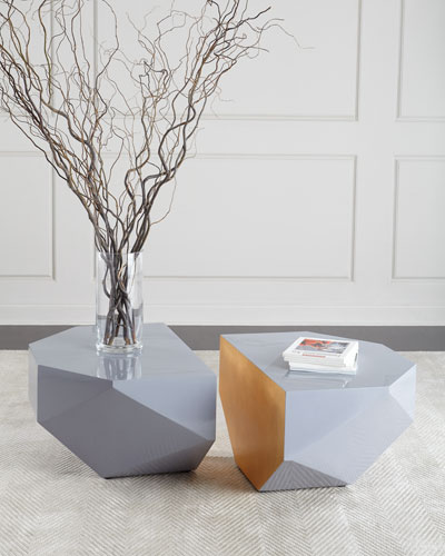 Gema Coffee Tables, Set of Two