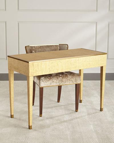 Ann Gish For Global Views D'oro Vanity Desk
