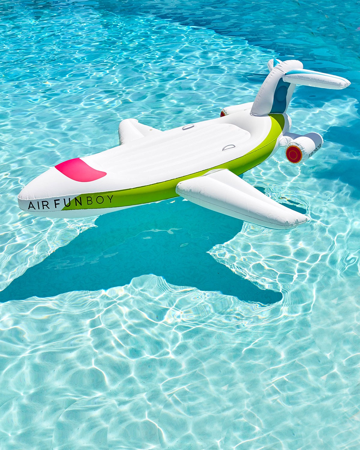 Private Jet Pool Float