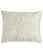 "Opal Essence Embroidered Pillow, 16"" x 20"""
