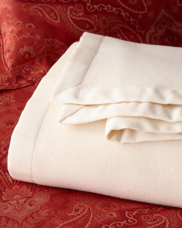 Queen Merino Lambswool Blanket