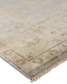 Annetta Antique Oushak Rug, 12' x 15'