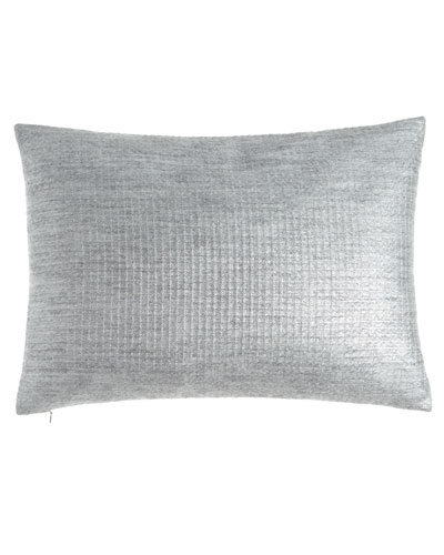 Metallic Mohair-Blend Pillow, 16