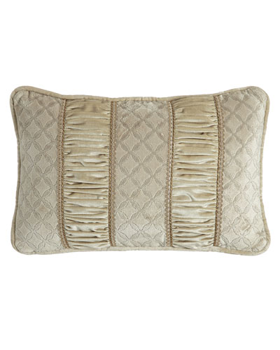 Chateau Boudoir Pillow, Oyster