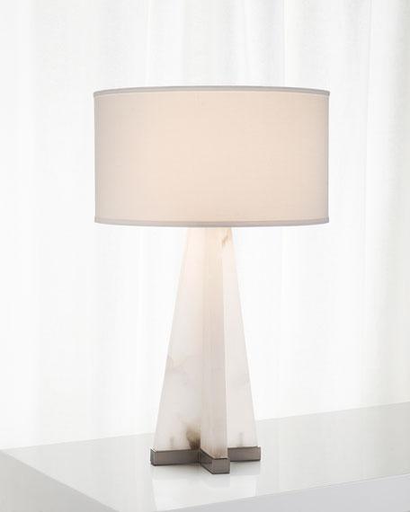 John-Richard Collection Sculptural Alabaster Table Lamp