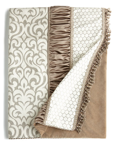 Austin Horn Classics Sterling Pieced Throw