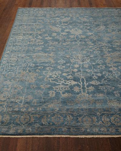 Cece Magnolia Wool Rug, 4' x 6'