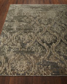 Royal Manor Wool Rug, 6' x 9'