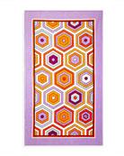 Jonathan Adler Honeycomb Beach Towel, Lavender