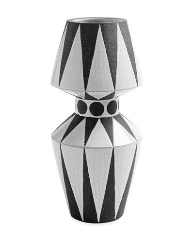Palm Springs Diamonds Vase