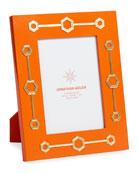 "Turner Lacquer Frame, Orange, 5"" x 7"""