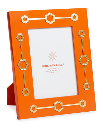 Turner Lacquer Frame, Orange, 5