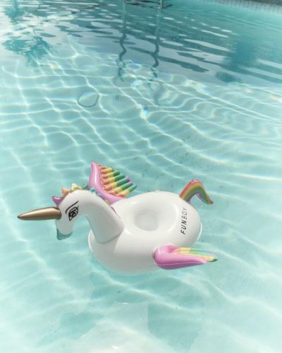 Unicorn Drink Holder Pool Float