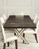 Seryln X-Leg Dining Table