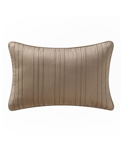 Chantelle Beaded Stripe Pillow, 12