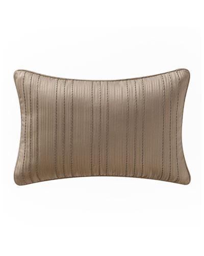 Chantelle Beaded Stripe Pillow, 12